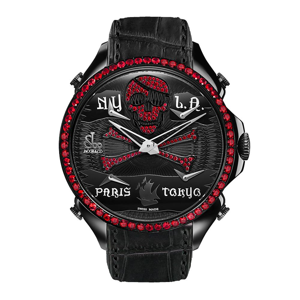 Jacob & Co. Palatial Five Time Zone Pirate - Watches & Crystals