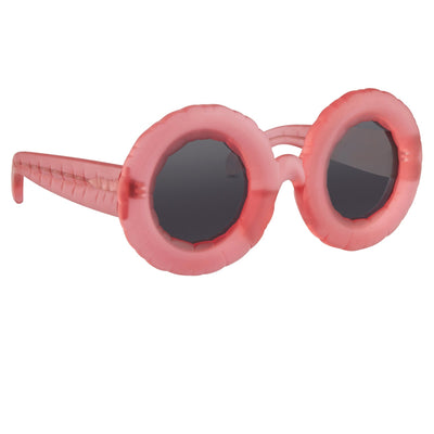 Jeremy Scott Sunglasses Pool Special Edition Frosted Pink CAT3 JSPOOLC4SUN - Watches & Crystals