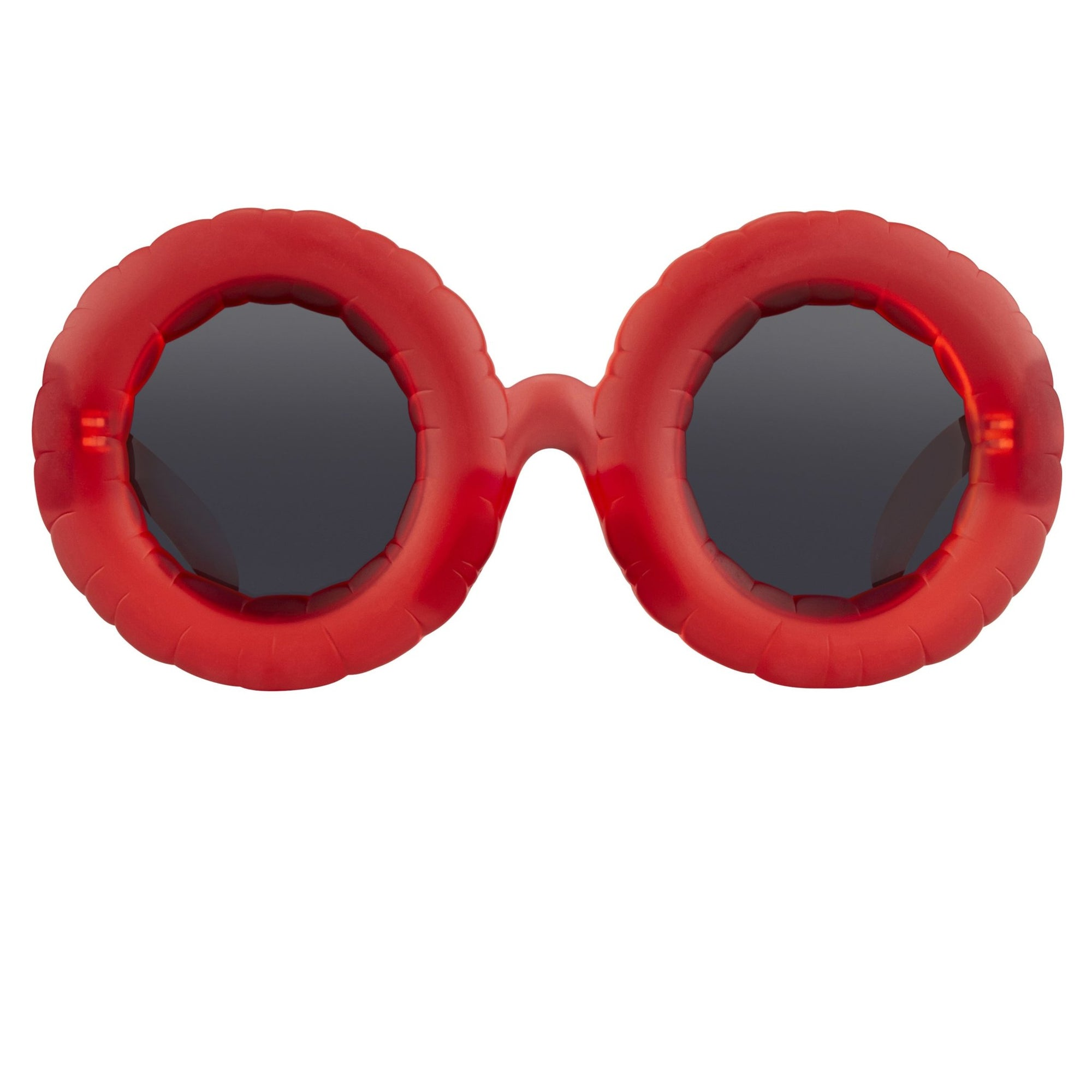 Jeremy Scott Sunglasses Pool Special Edition Frosted Red CAT3 JSPOOLC1SUN - Watches & Crystals