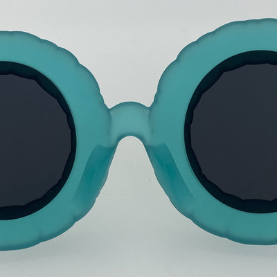 Jeremy Scott Sunglasses Pool Special Edition Frosted Turquoise CAT3 JSPOOLC3SUN - Watches & Crystals