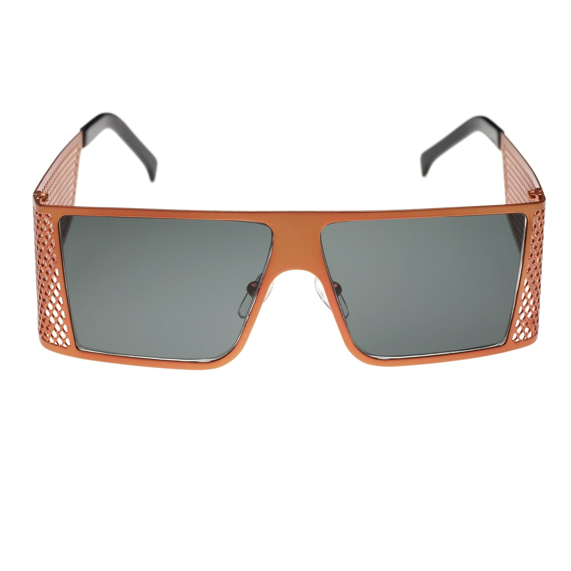 Jeremy Scott Sunglasses Unisex Corner Office Special Edition Orange CAT2 8JSCORNEROFFICEORANGE - Watches & Crystals