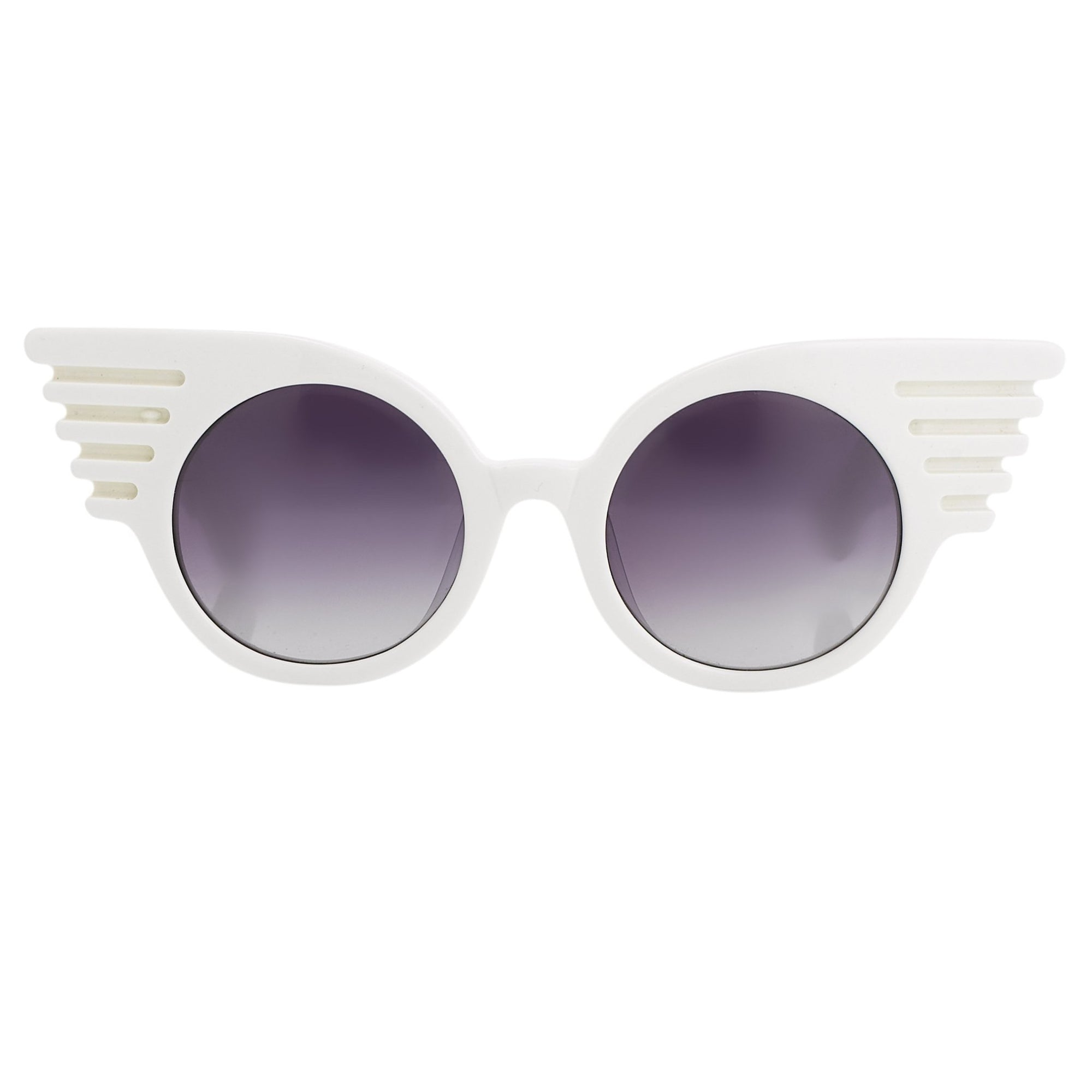 Jeremy Scott Sunglasses Wings Special Edition White JSWINGSC2SUN - Watches & Crystals