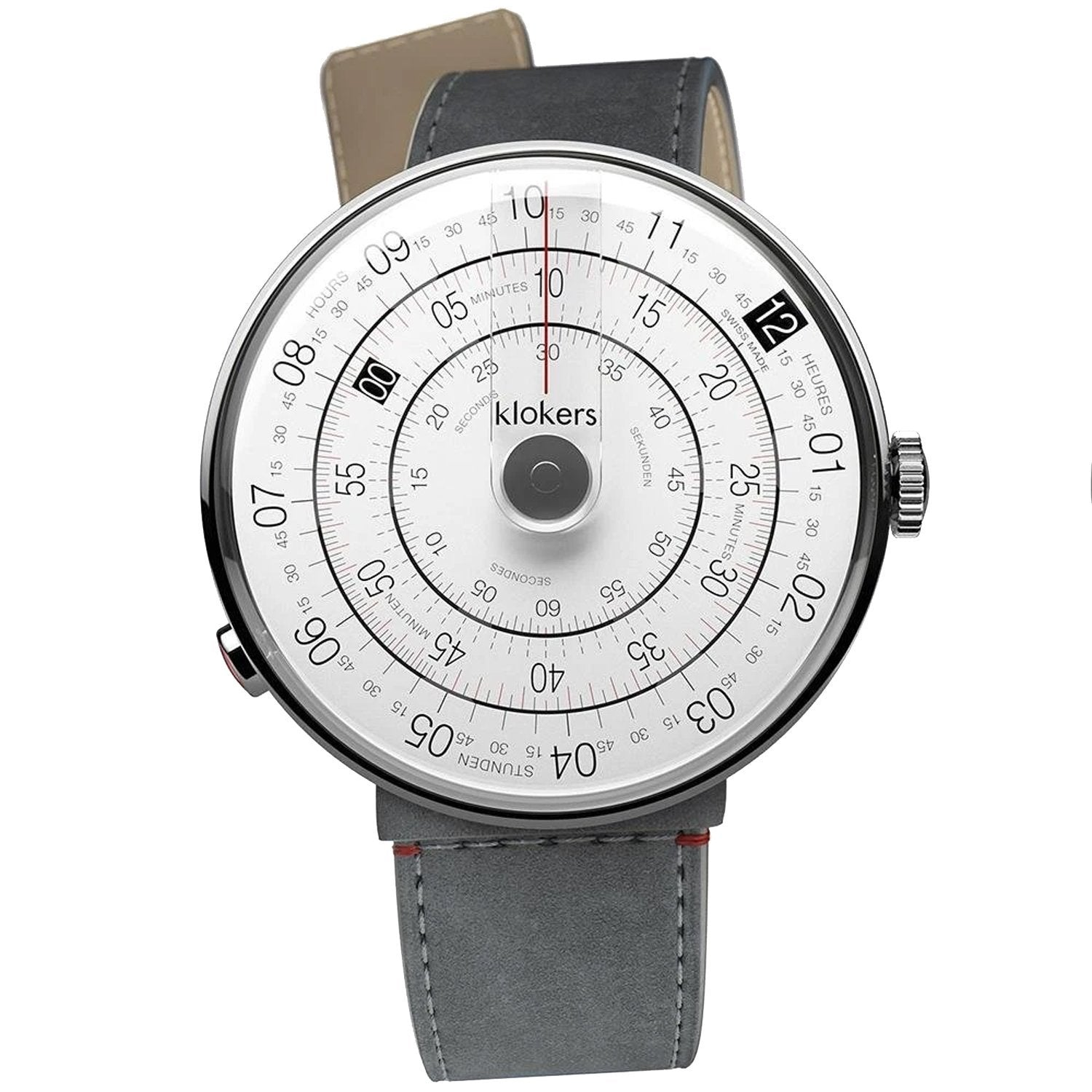Klokers Heritage 44MM Grey - Watches & Crystals
