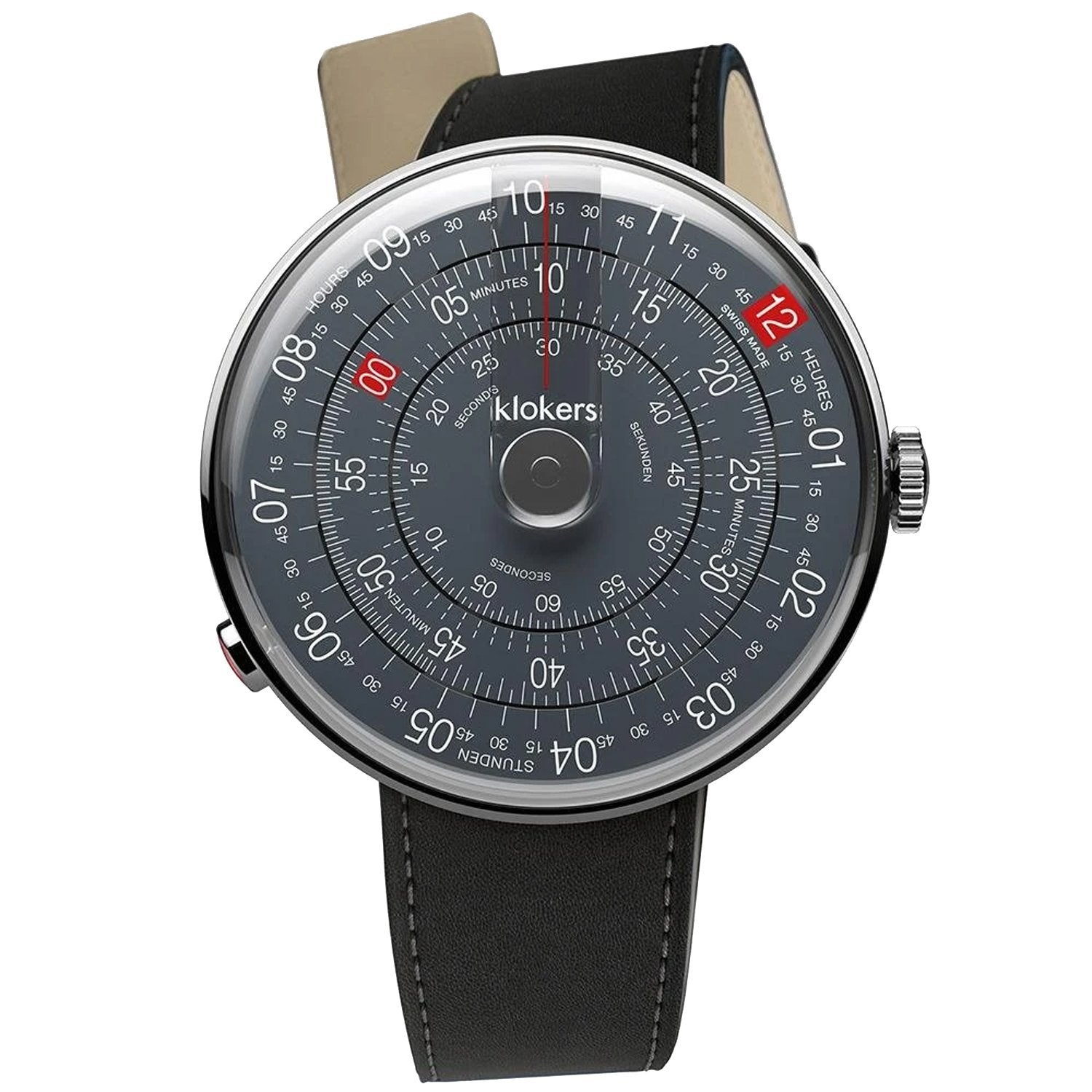 Klokers Heritage Anthracite Limited and Numbered Edition - Watches & Crystals