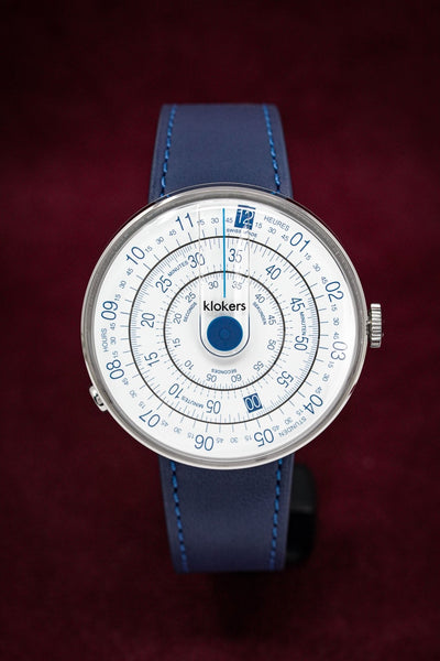 Klokers Heritage Blue - Watches & Crystals