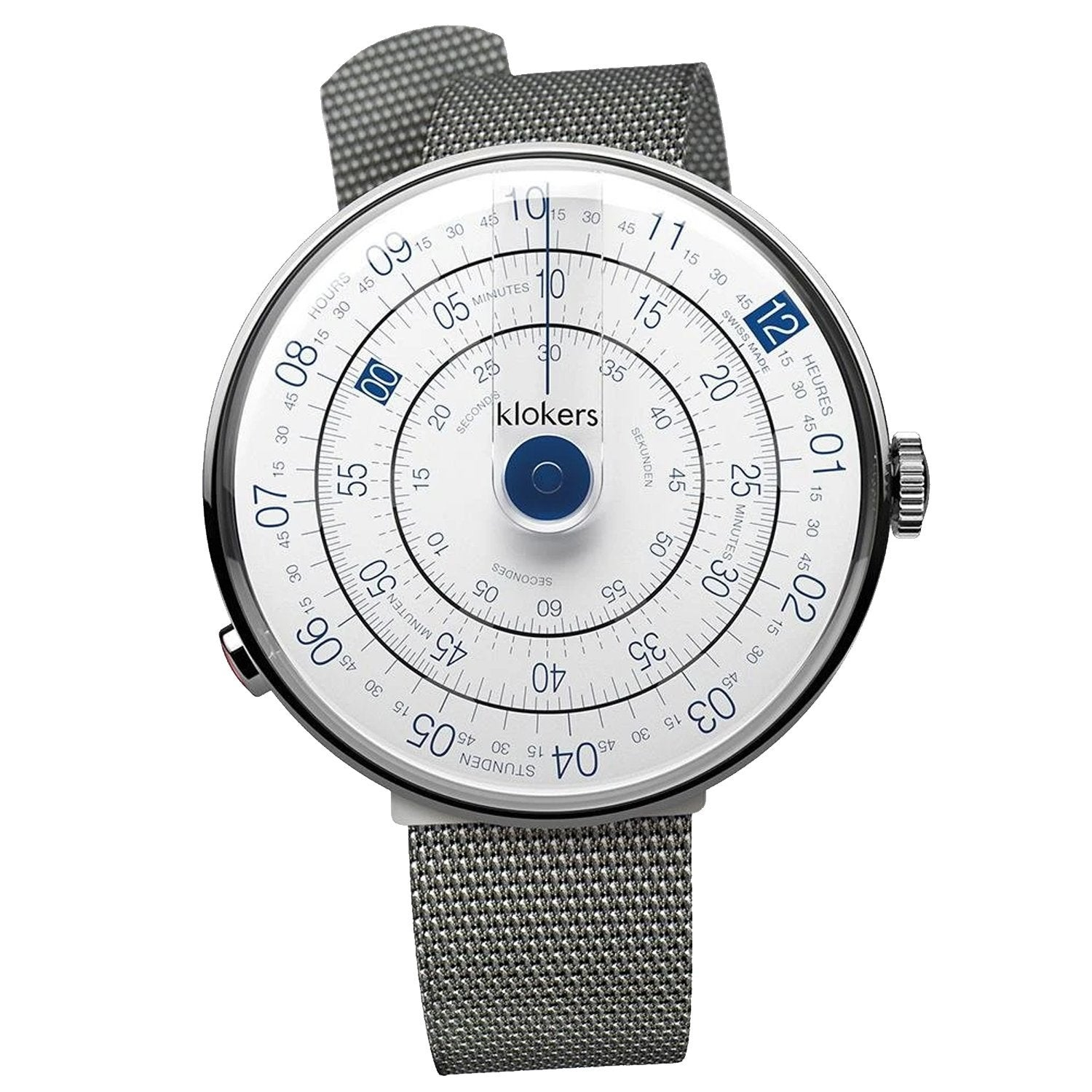 Klokers Heritage Blue Stainless Steel - Watches & Crystals