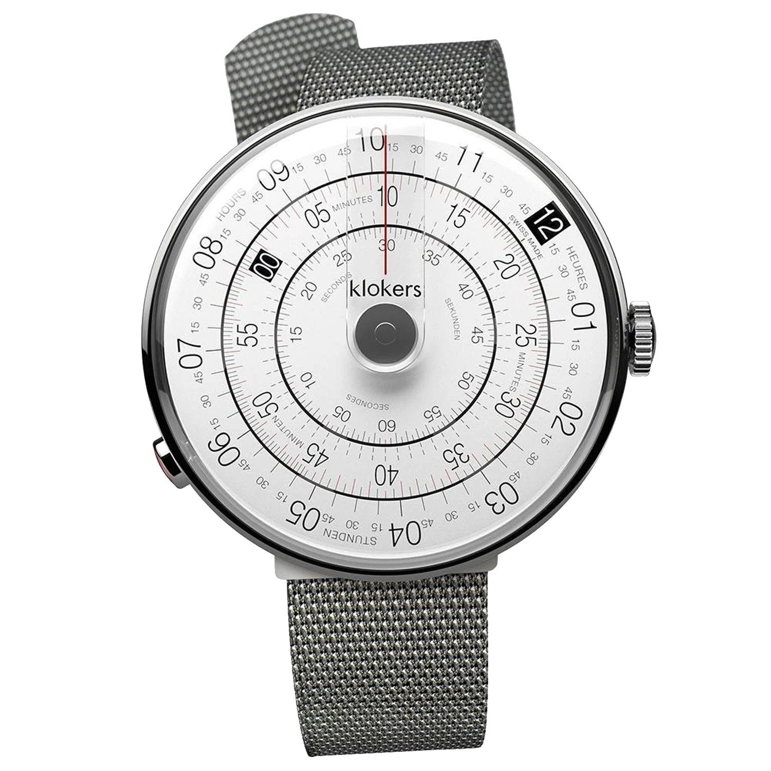 Klokers Heritage Grey Stainless Steel - Watches & Crystals