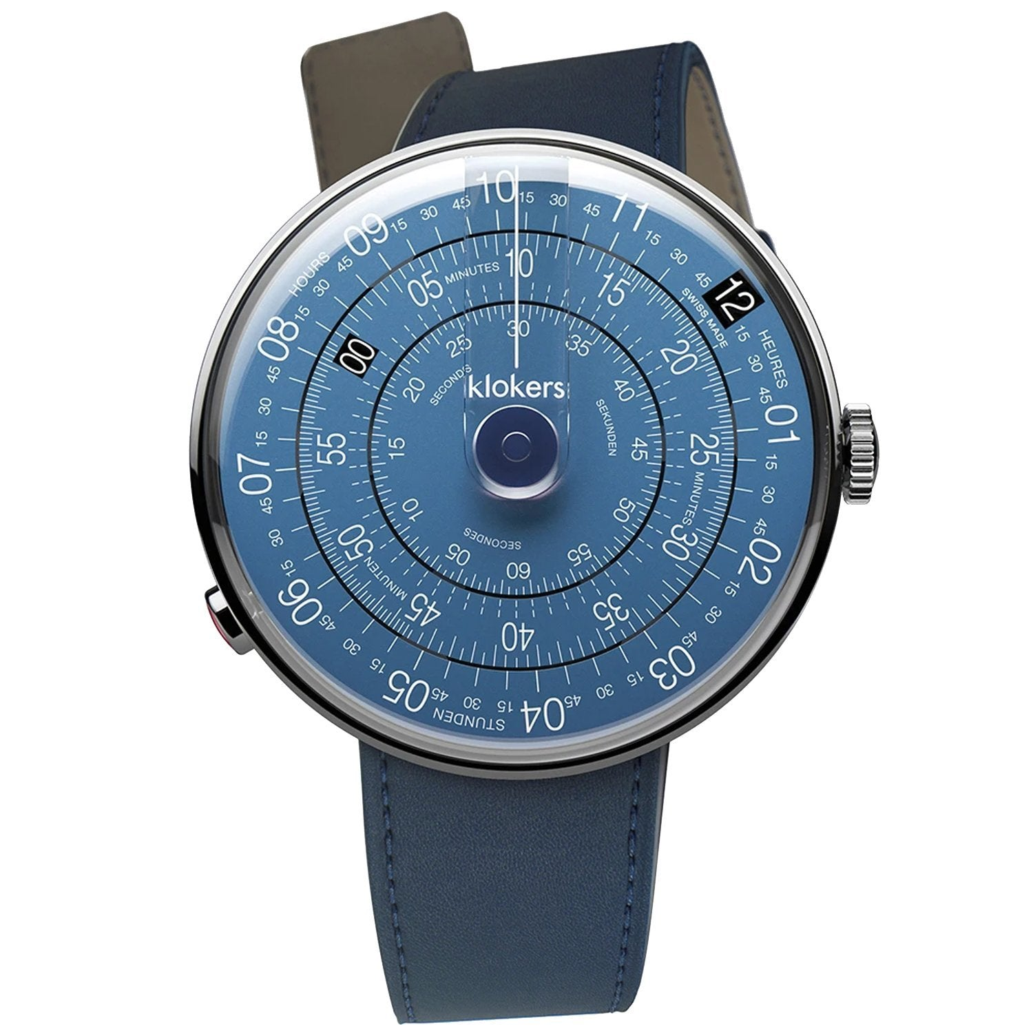 Klokers Metal Blue - Watches & Crystals