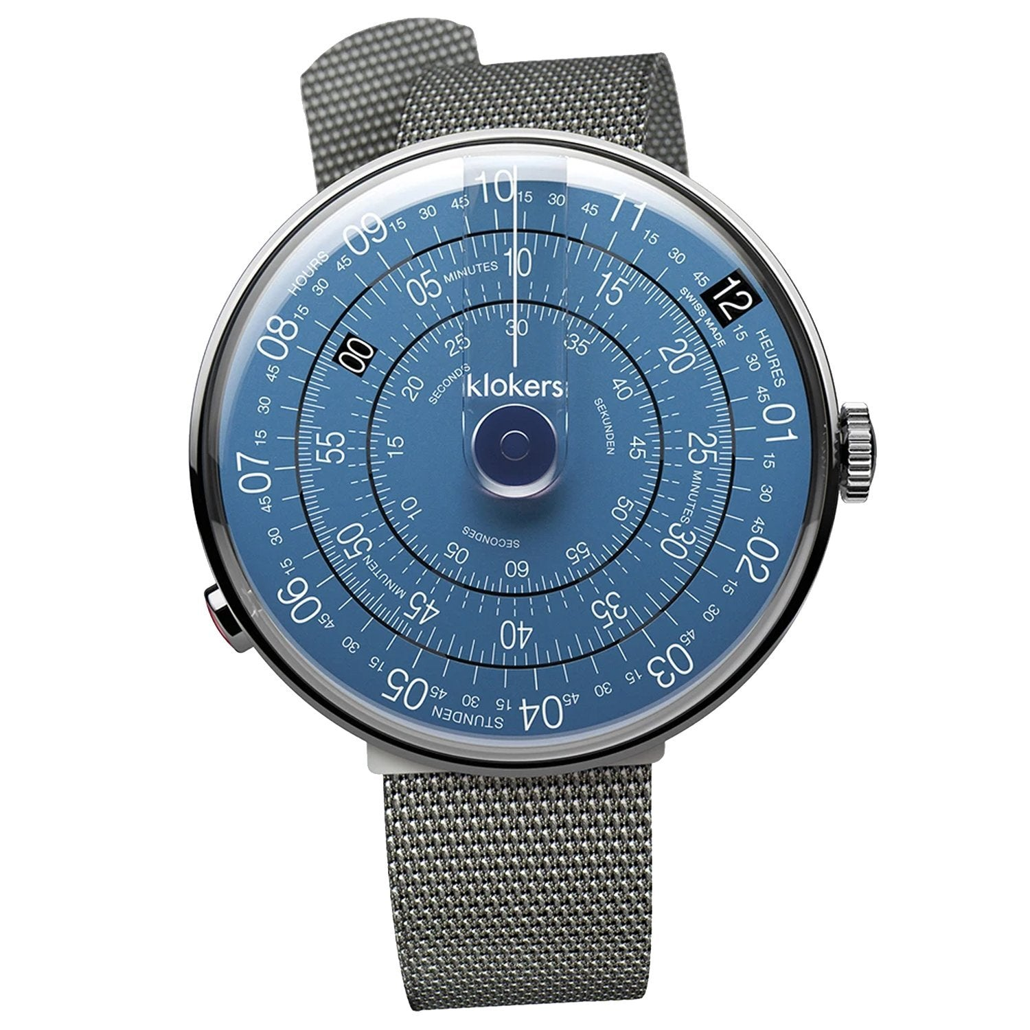 Klokers Metal Blue Stainless Steel - Watches & Crystals