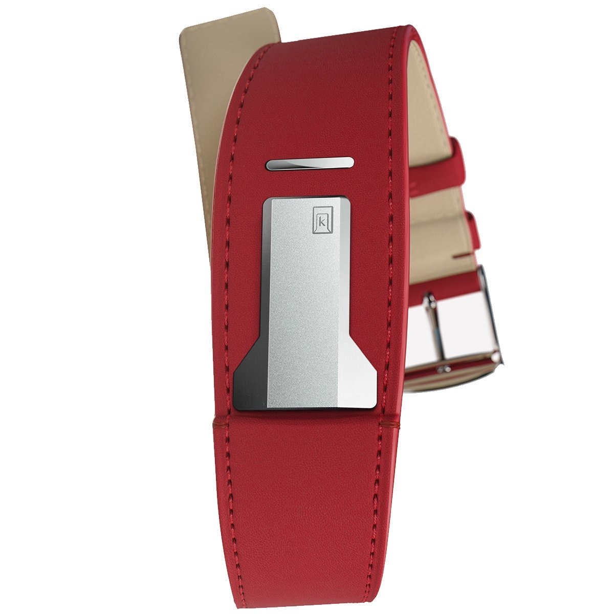Klokers Red Leather Strap - Watches & Crystals