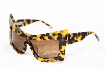 Kokon To Zai Sunglasses Chunky Cat Eye Tortoise Shell With Brown Category 3 Lenses KTZ7C2SUN - Watches & Crystals