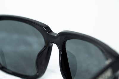 Kokon To Zai Sunglasses D-Frame Black/Silver With Grey Category 3 Lenses KTZ14C1SUN - Watches & Crystals