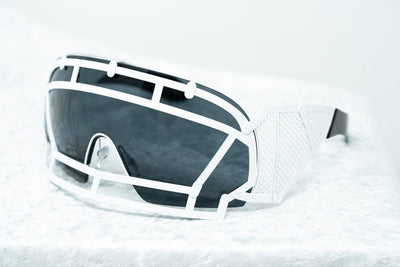 Kokon To Zai Sunglasses Football Helmet White With Dark Grey Category 3 Lenses KTZ1C4SUN - Watches & Crystals