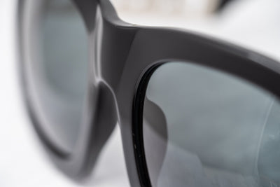 Kokon To Zai Sunglasses Oversized Glossy Black With Grey Category 3 Lenses KTZ17C1SUN - Watches & Crystals