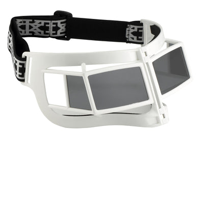 Kokon To Zai Sunglasses Shield Mask White With Grey Category 3 Lenses KTZ9C3SUN - Watches & Crystals
