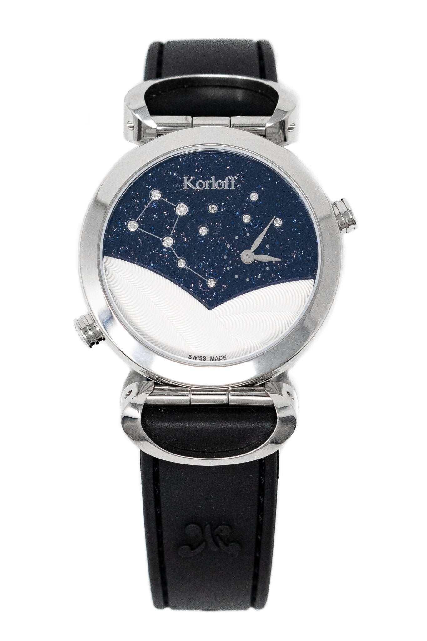 Korloff Reversible GMT Diamond Watch - Watches & Crystals