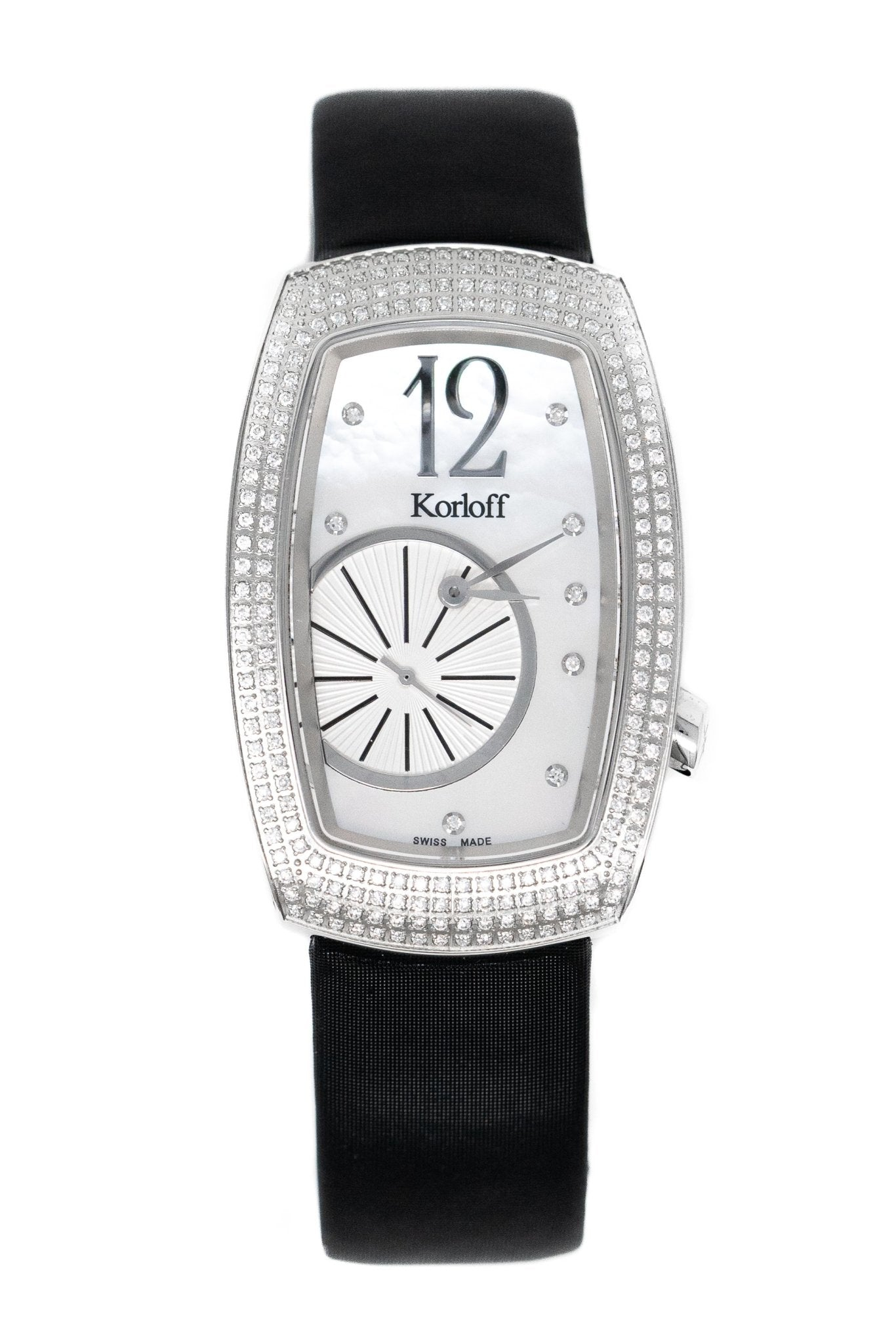 Korloff Tonneau Ronde Diamond Limited Edition - Watches & Crystals