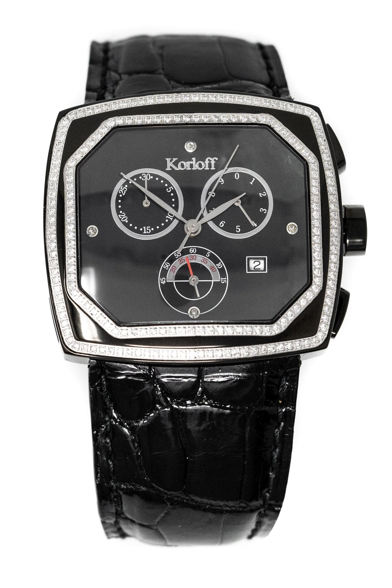 Korloff Transparence Diamond Chronograph Limited Edition - Watches & Crystals