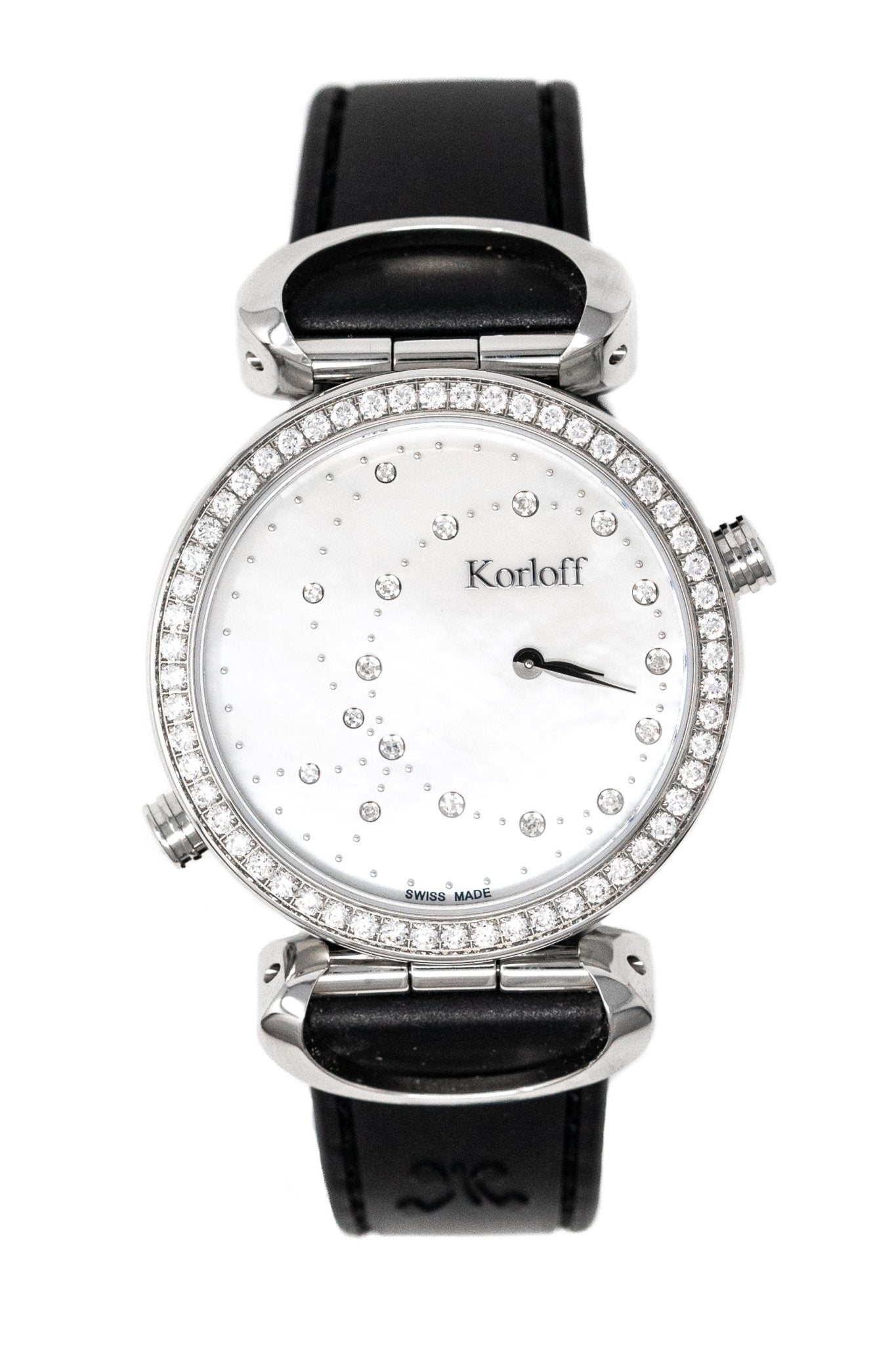 Korloff Voyager GMT Diamond Reversible - Watches & Crystals