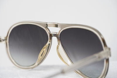 Kris Van Assche Sunglasses Clear Silver and Purple Green Graduated Lenses - KVA78C4SUN - Watches & Crystals