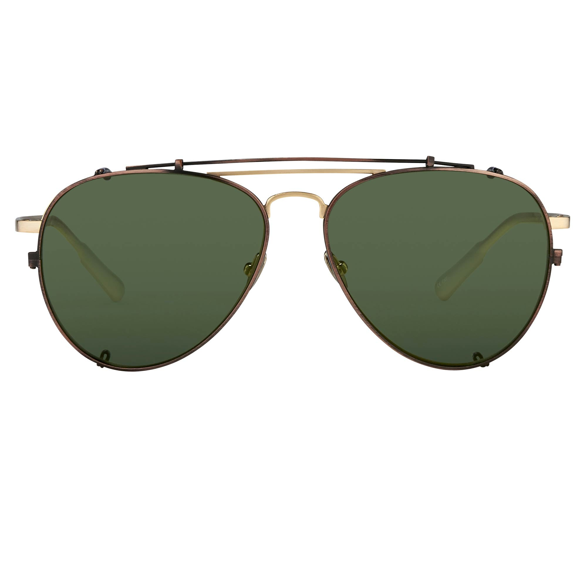 Kris Van Assche Sunglasses Green - Watches & Crystals