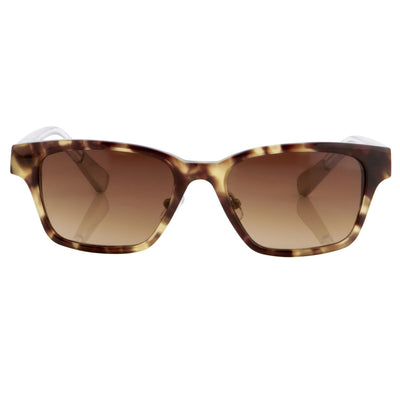 Kris Van Assche Sunglasses with Rectangular Brown Tortoise Shell and Brown Graduated Lenses - KVA18C1SUN - Watches & Crystals