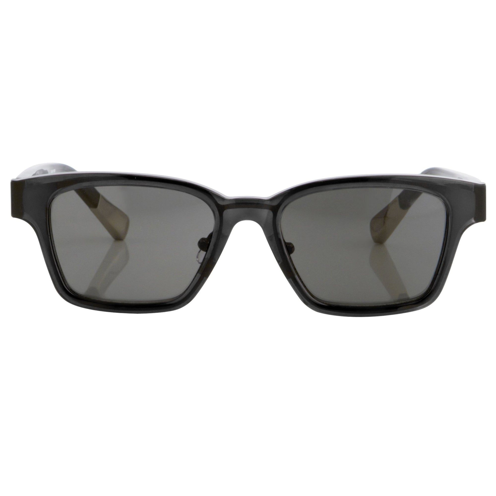 Kris Van Assche Sunglasses with Rectangular Translucent Black Metal and Grey Lenses Category 3 - KVA18C9SUN - Watches & Crystals