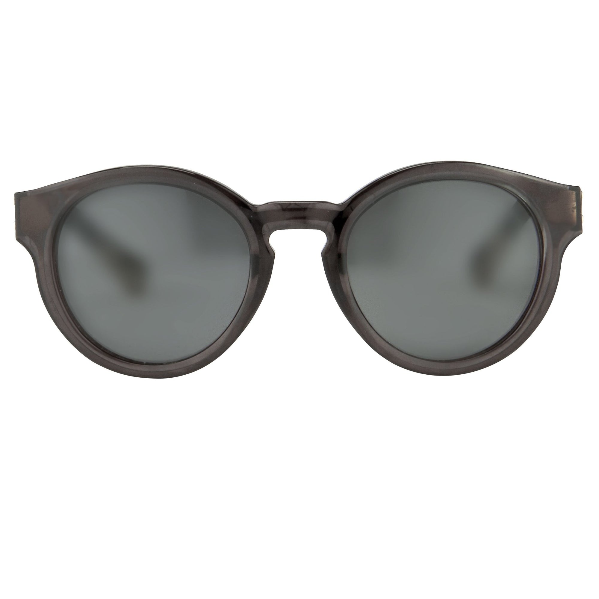 Kris Van Assche Unisex Sunglasses with Oval Translucent Black and Grey Lenses Category 3 - KVA7C6SUN - Watches & Crystals