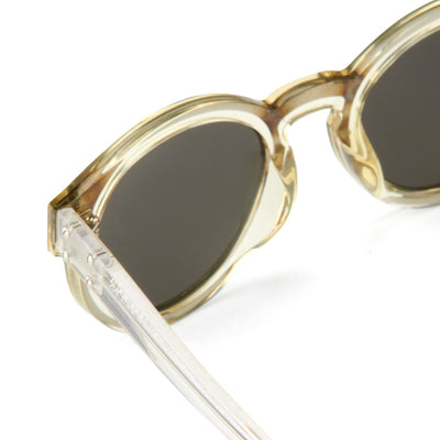 Kris Van Assche Unisex Sunglasses with Oval Translucent Yellow and Dark Grey Lenses Category 3 - KVA7C7SUN - Watches & Crystals