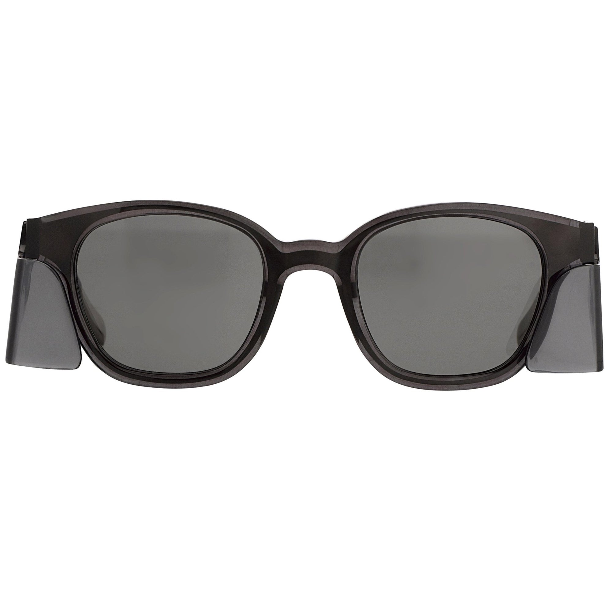 Kris Van Assche Unisex Sunglasses with Side Piece Oval Translucent Black and Grey Lenses Category 3 - KVA9C6SUN - Watches & Crystals