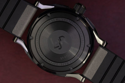 L&Jr Day and Date Black PVD - Watches & Crystals