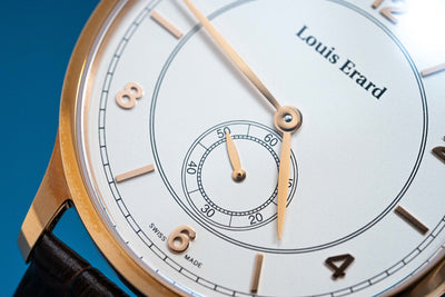 Louis Erard 1931 Small Seconds IP Rose Gold - Watches & Crystals