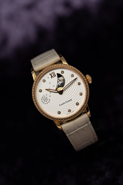 Louis Erard Emotion Diamond IP Rose Gold - Watches & Crystals