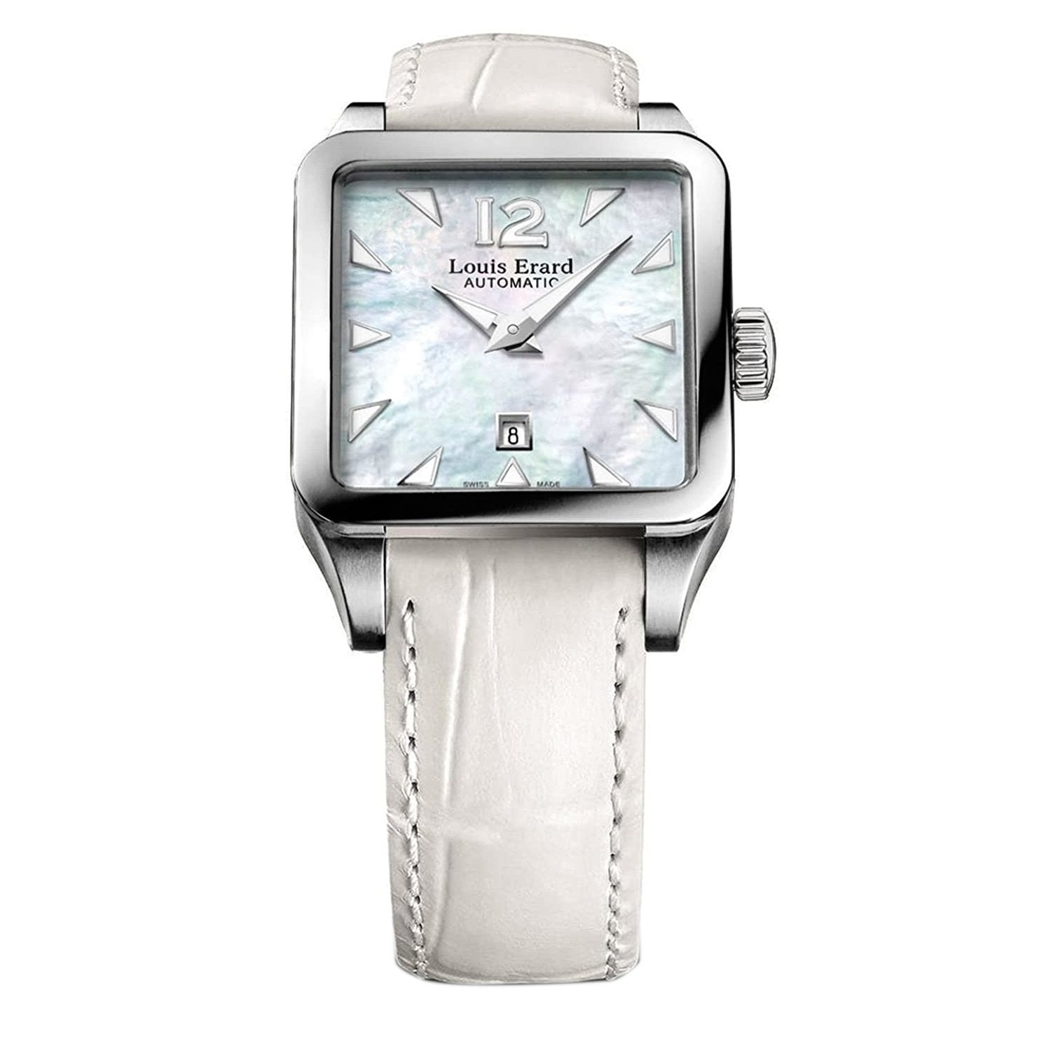 Louis Erard Emotion Square Date Mother of Pearl - Watches & Crystals