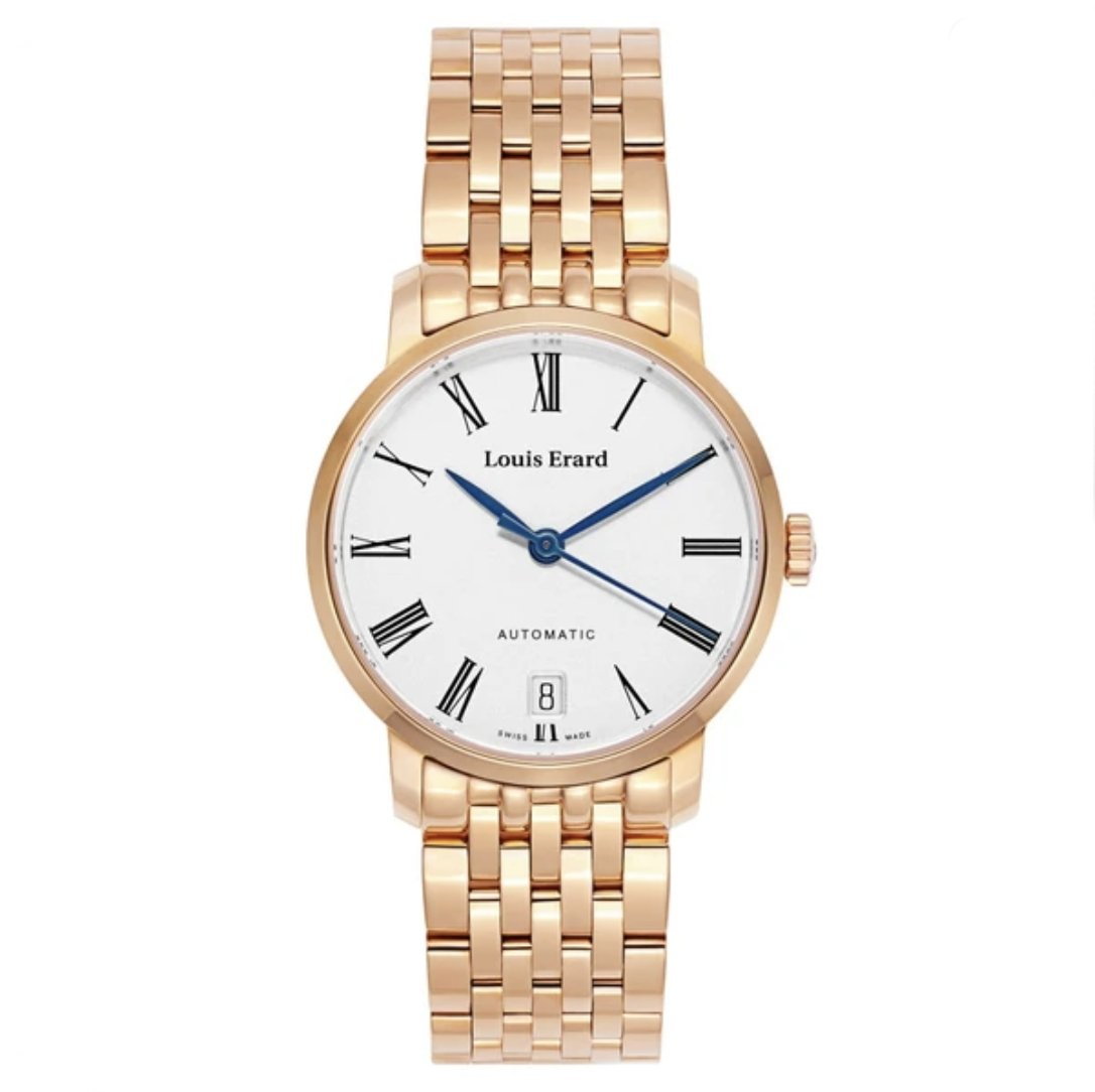 Louis Erard Excellence Date IP Rose Gold - Watches & Crystals