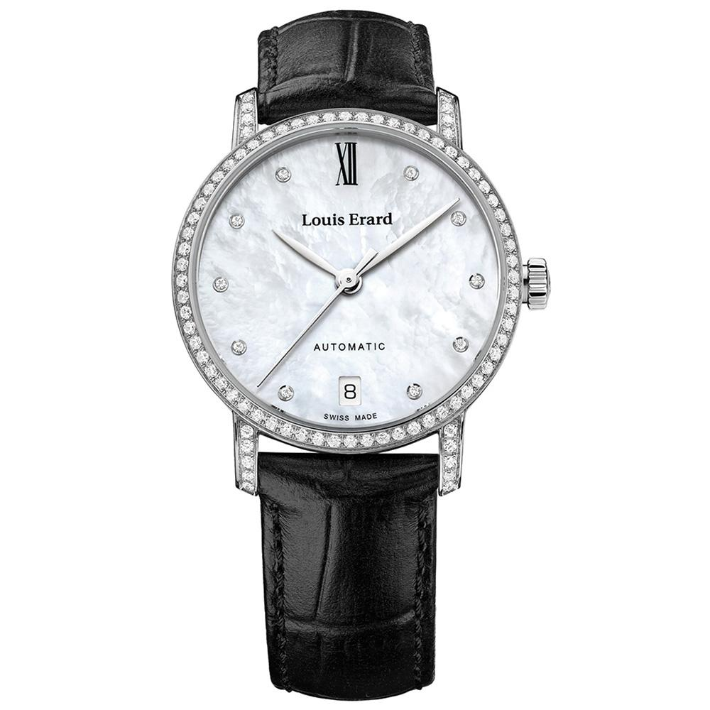 Louis Erard Excellence Diamonds Date Black - Watches & Crystals