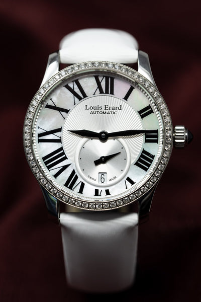Louis Erard Excellence Diamonds Small Seconds Date - Watches & Crystals
