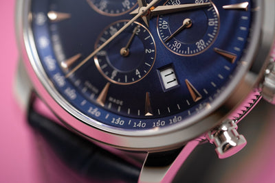 Louis Erard Heritage Chronograph Date Steel - Watches & Crystals