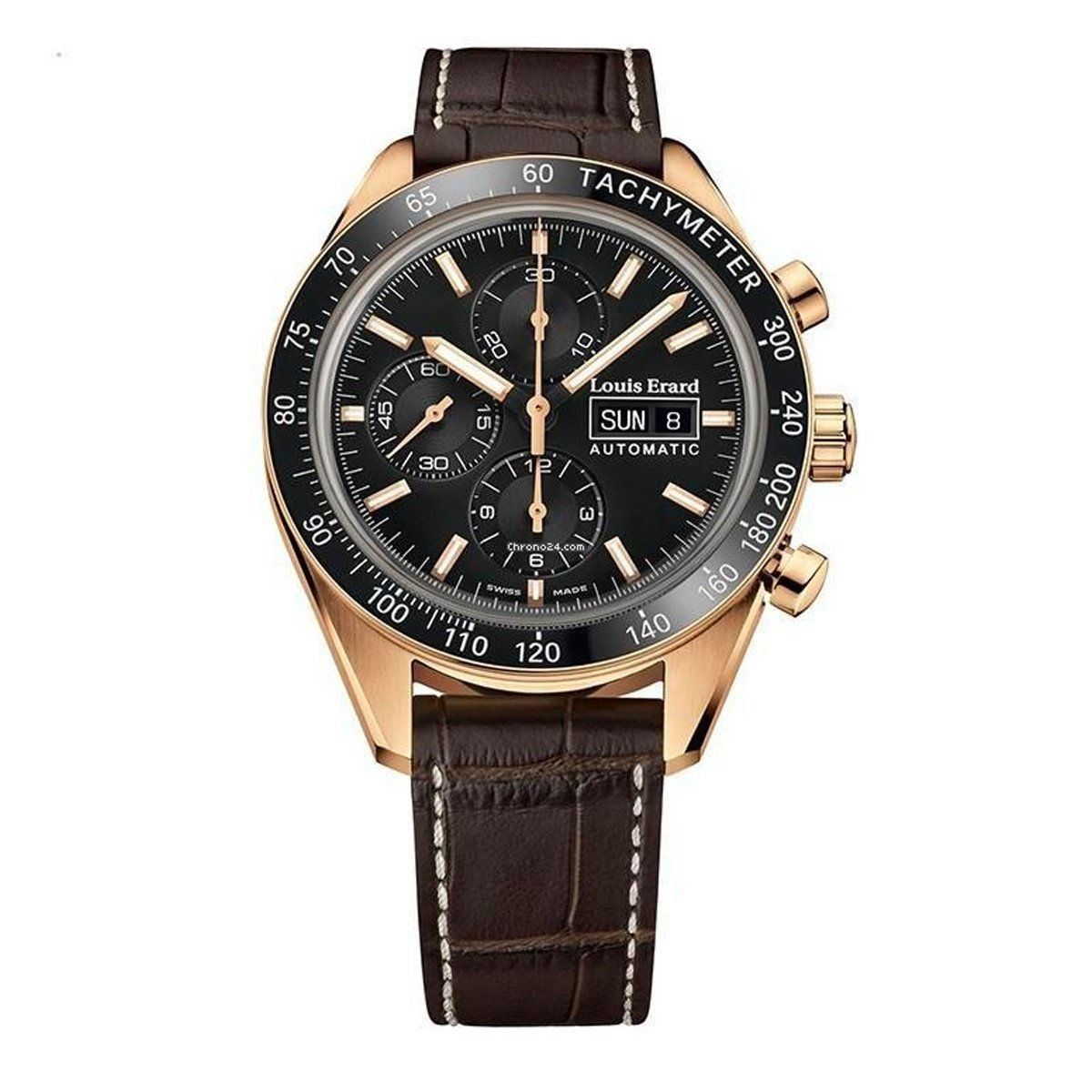 Louis Erard La Sportive Chronograph Rose Gold - Watches & Crystals
