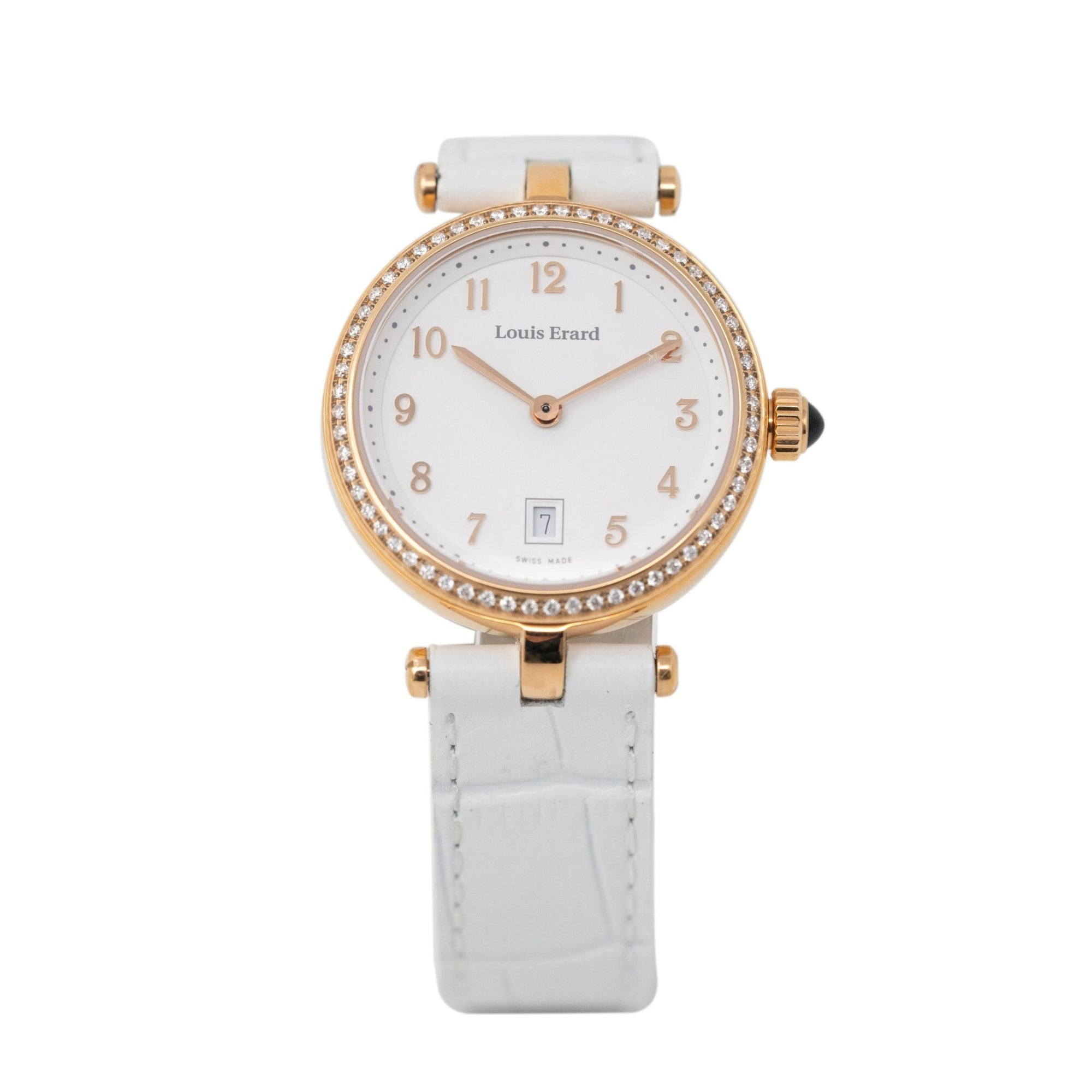 Louis Erard Romance Diamonds Date White - Watches & Crystals