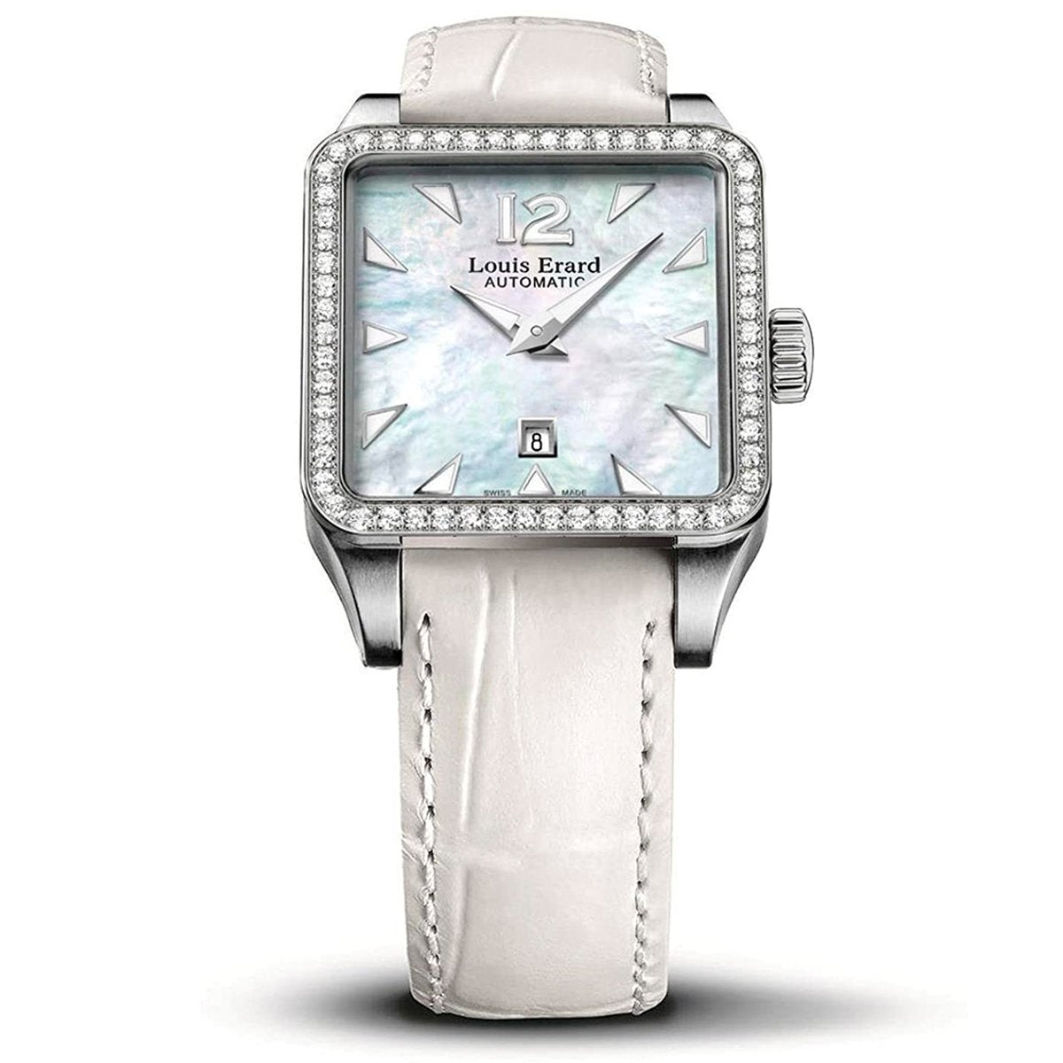 Louis Erard Romance Diamonds White - Watches & Crystals