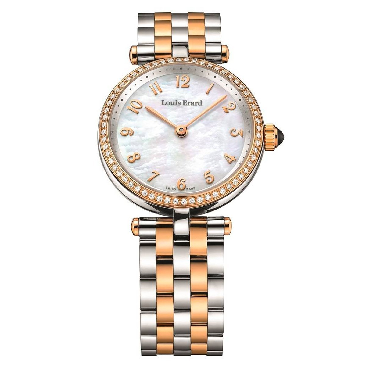 Louis Erard Romance Mother of Pearl Diamonds - Watches & Crystals