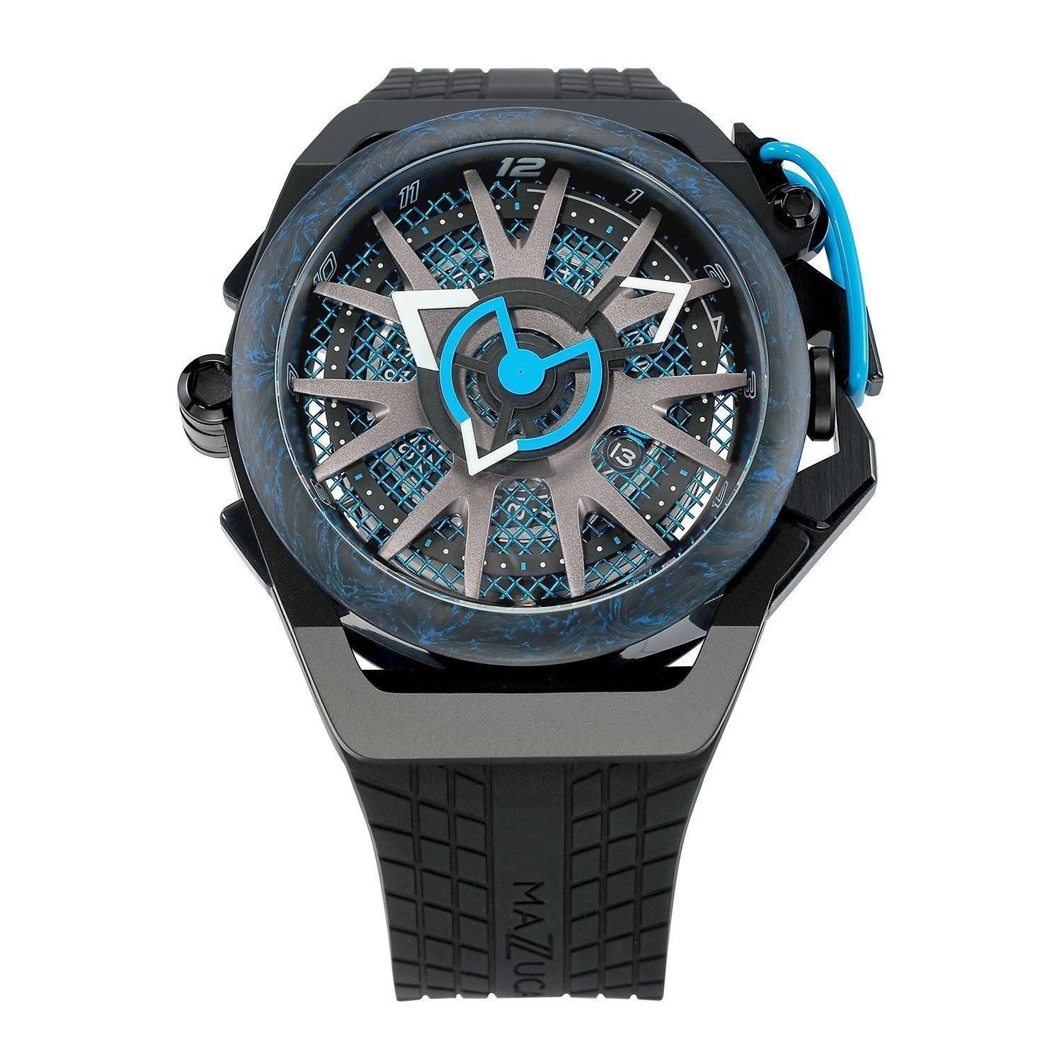 Mazzucato Reversible Monza Blue Limited Edition - Watches & Crystals