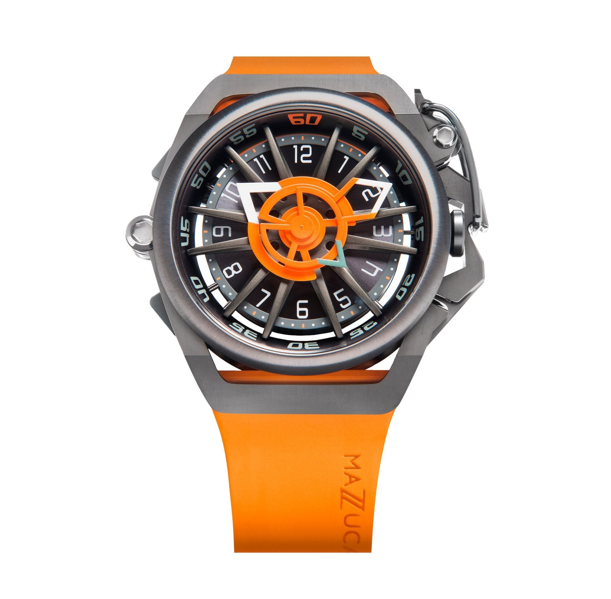 Mazzucato Reversible RIM Orange - Watches & Crystals