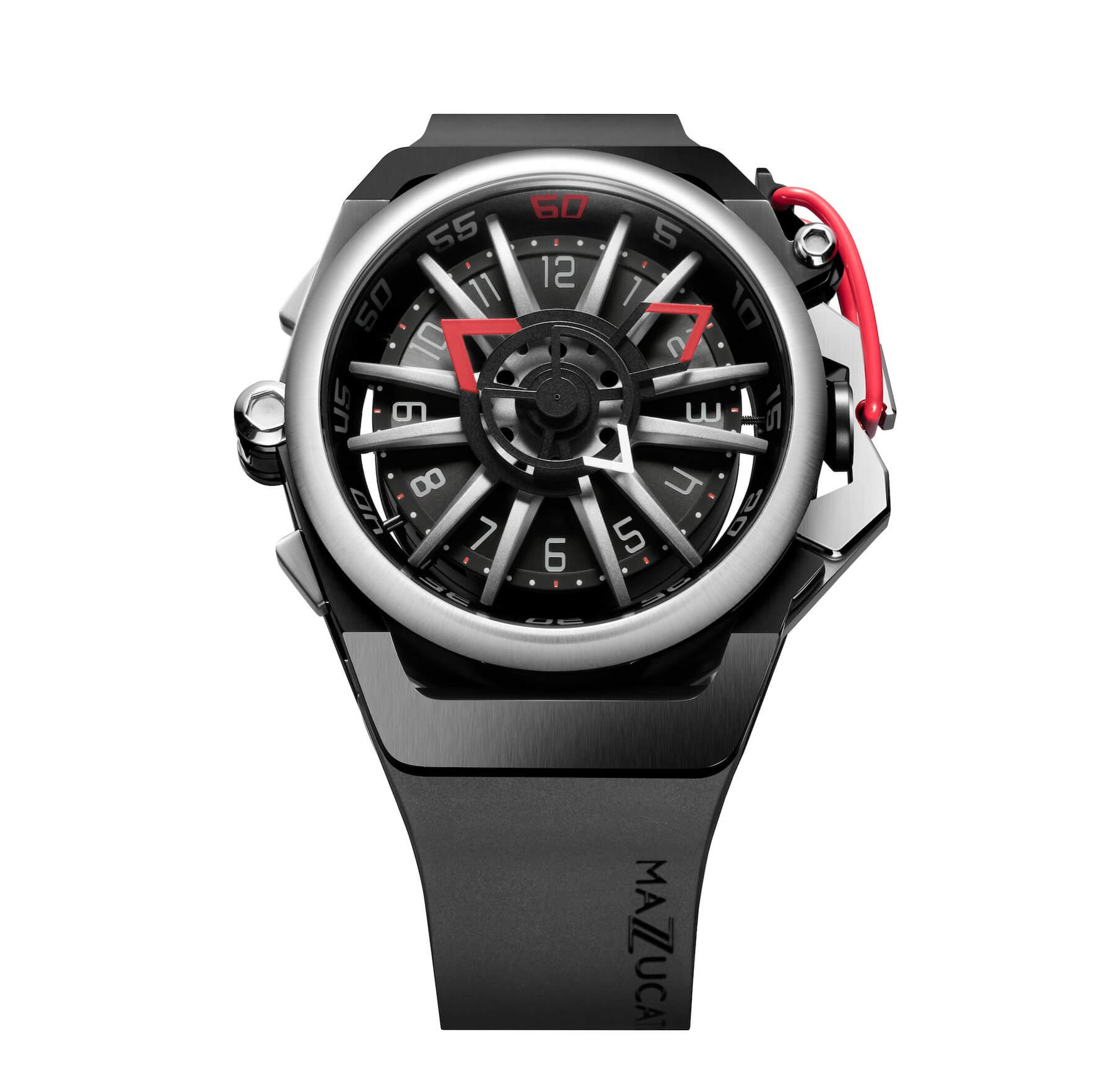 Mazzucato Reversible RIM Red - Watches & Crystals
