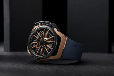 Mazzucato Reversible RIM Rose Gold - Watches & Crystals