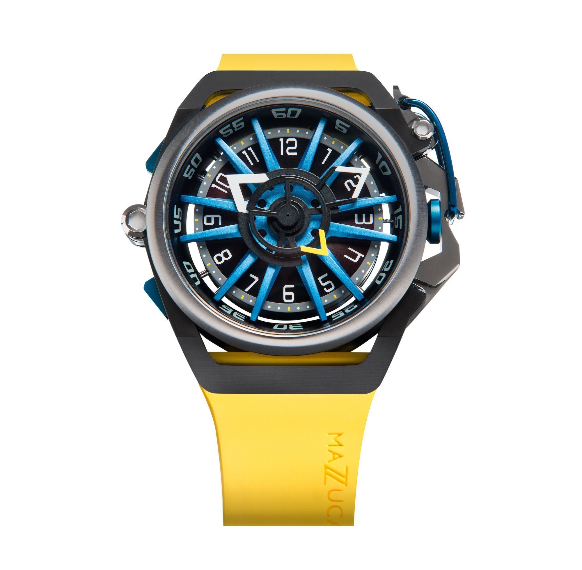 Mazzucato Reversible RIM Yellow - Watches & Crystals