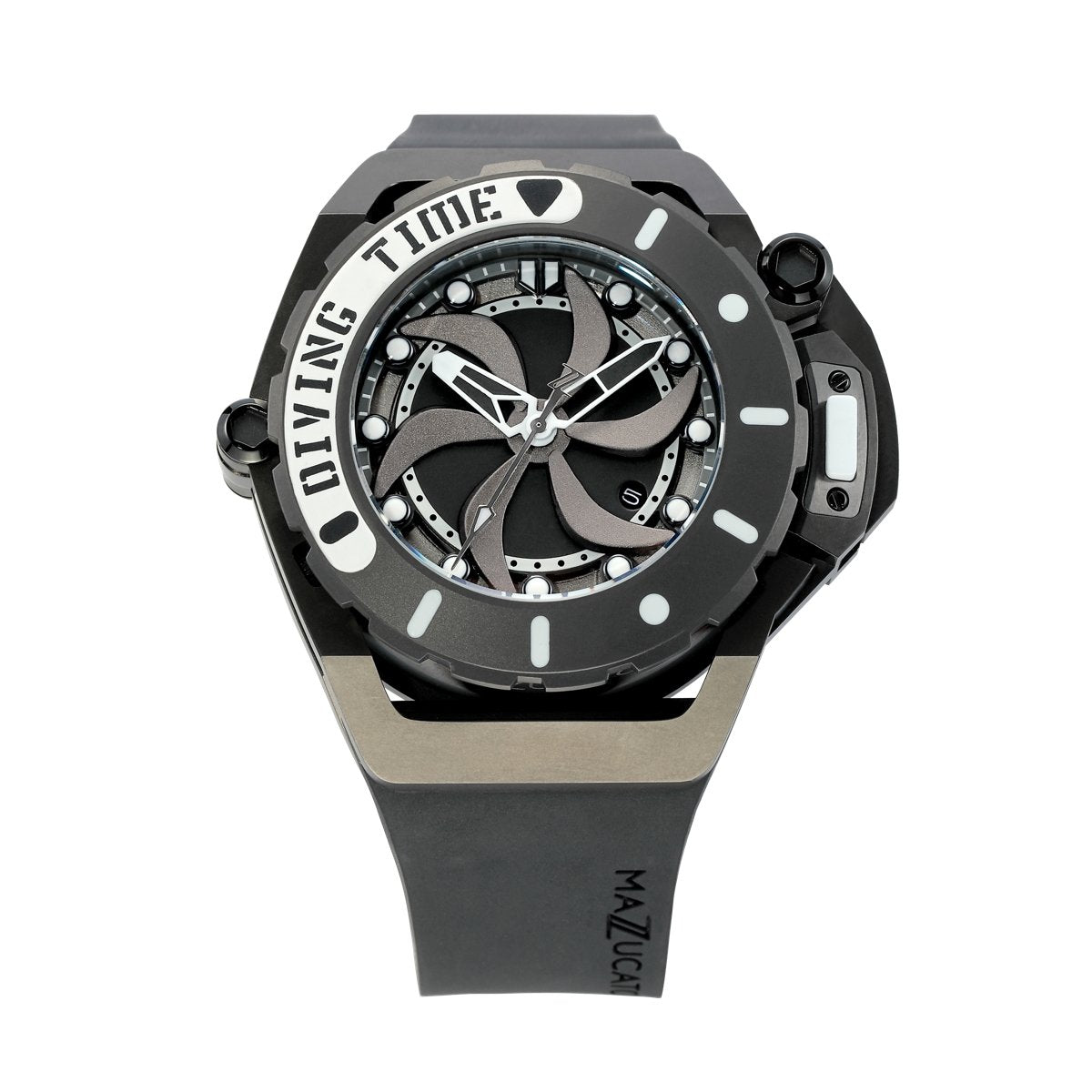 Mazzucato RIM Scuba Black - Watches & Crystals