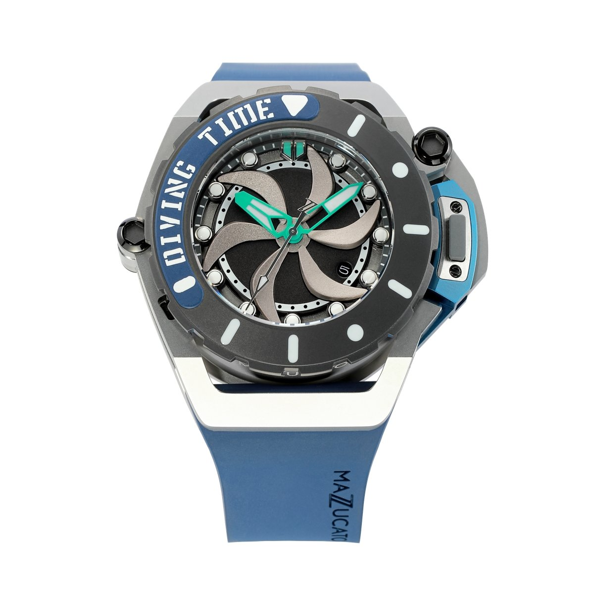 Mazzucato RIM Scuba Blue Green - Watches & Crystals