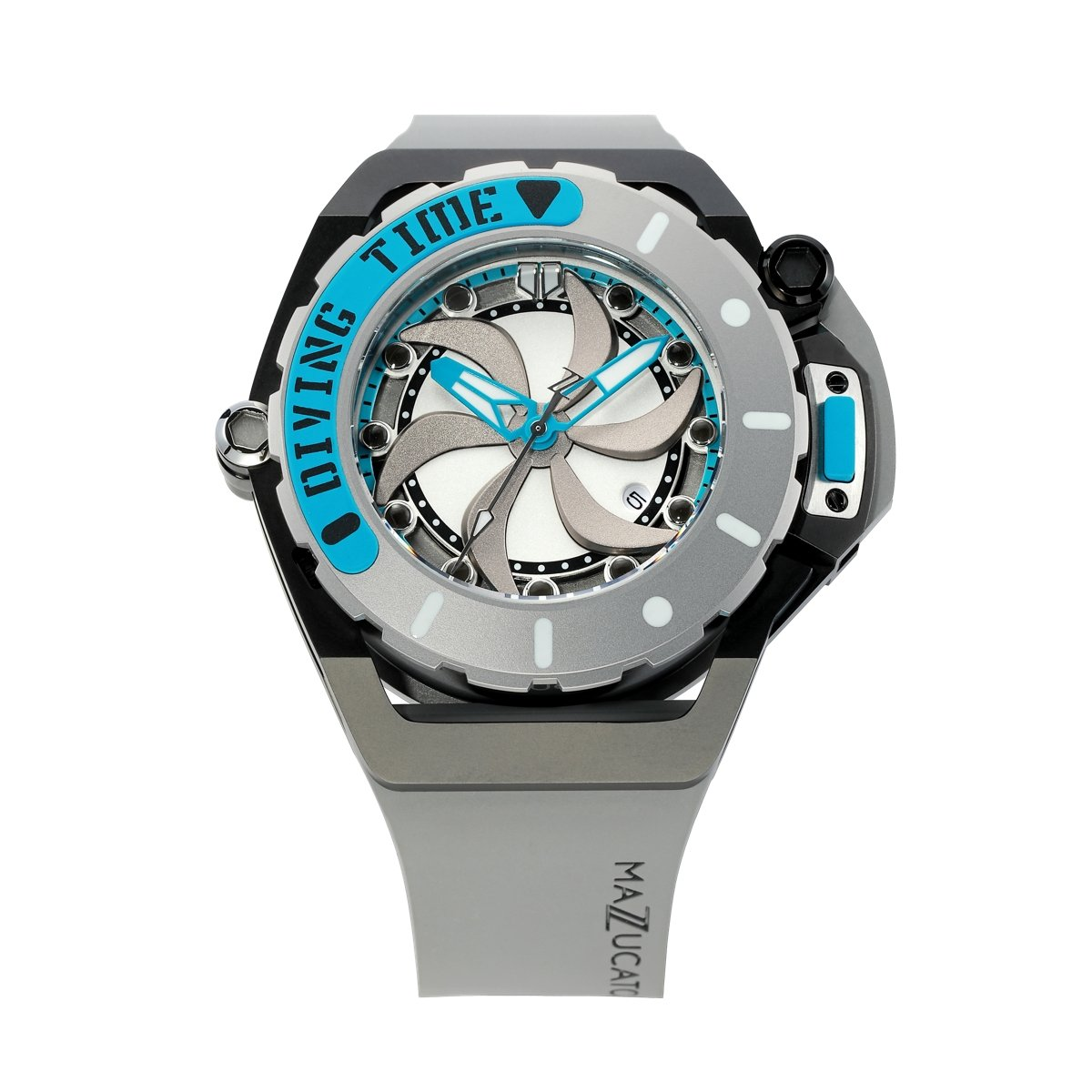 Mazzucato RIM Scuba Blue Grey - Watches & Crystals